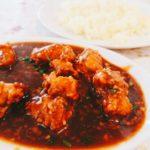 行徳グルメ インドヤレストランでランチ チキンマンチュリアンセット インド中華
